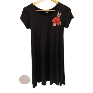 🦋Light weight black shift dress French Atmosphere